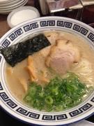 イオンモール熊本クレア内の久留米ラーメン清陽軒で屋台仕込みラーメン♪