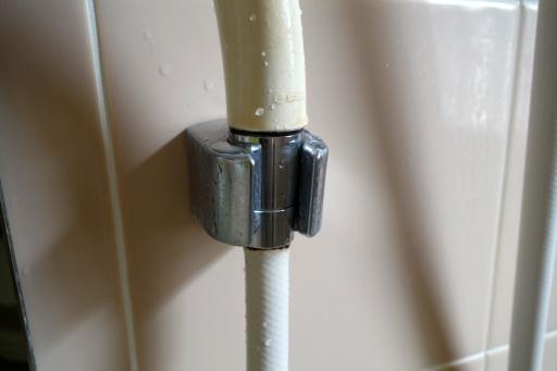 シャワーホースから水漏れ