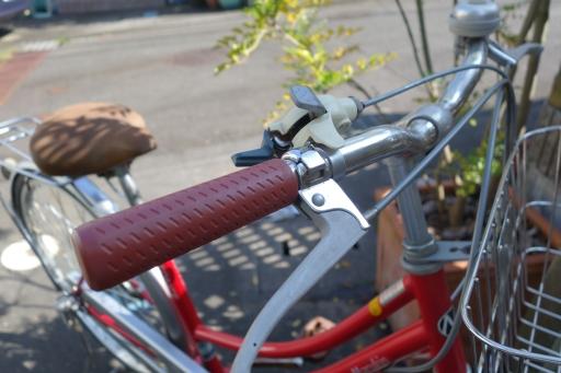 自転車 グリップ 交換
