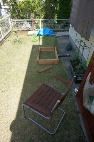 庭 家庭菜園 土壌改良