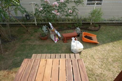 園芸 椅子 自作