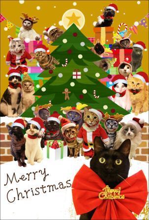 クリスマスカードみんな