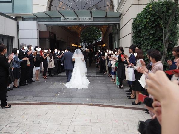 h28,6結婚式ゲストの中