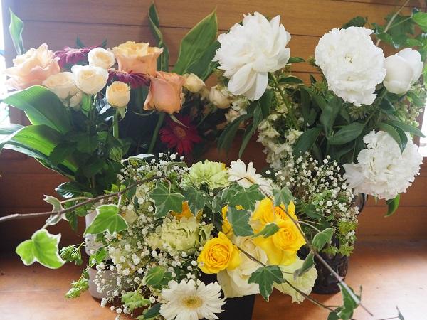 h28,6結婚式の花