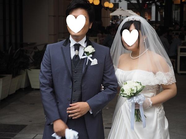 h28,6結婚式笑顔