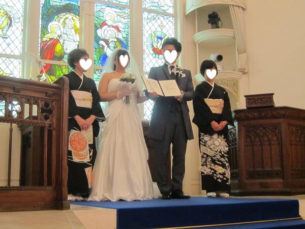 h28,6人前結婚式