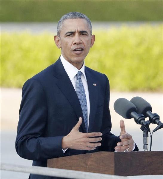 20160528 オバマ大統領