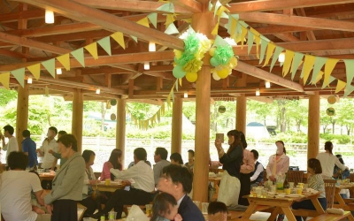 wedding 結婚式 花 Party キャンプ場