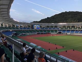 2016-08-27試合前ゴール裏