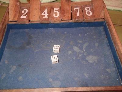 バービアゲーム4 サイコロゲーム