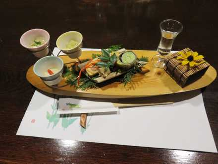 彩の庄 夕食1
