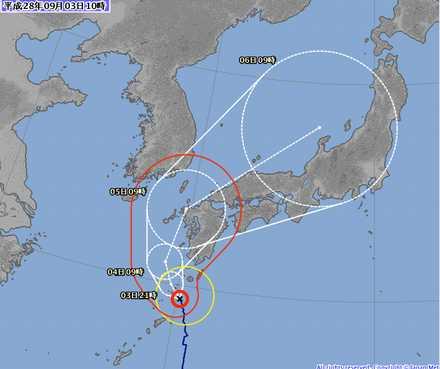 台風12号 3