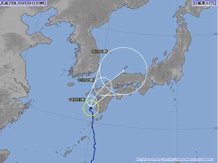 台風12号 5