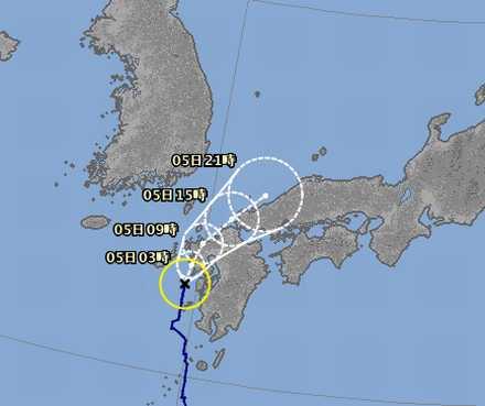 台風12号 6