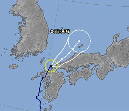 台風12号 7