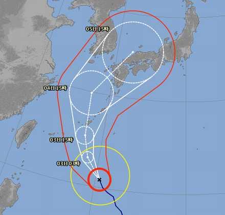 台風18号 1