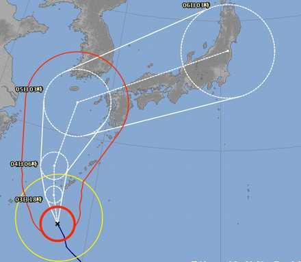 台風18号 3
