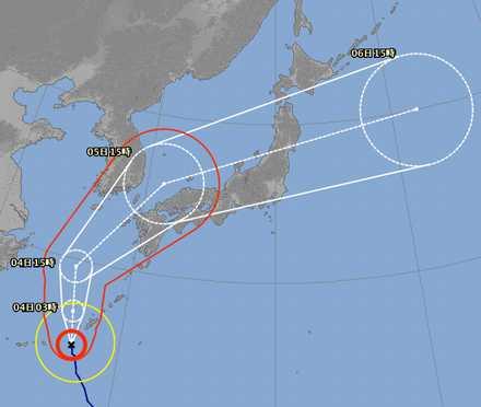 台風18号 5
