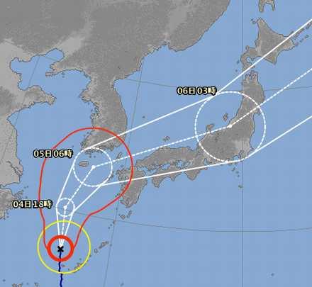 台風18号 7