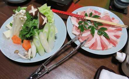 夕食 7 豚シャブ