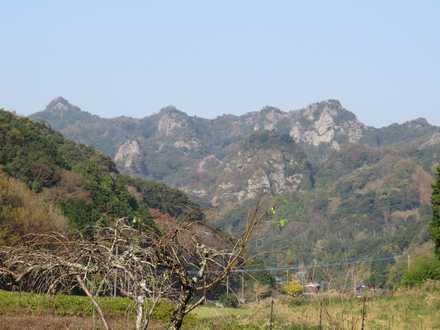 夷谷温泉からの風景 9