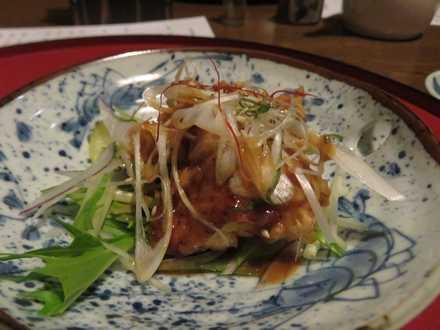 夕食6 ハーブ鶏天プラ
