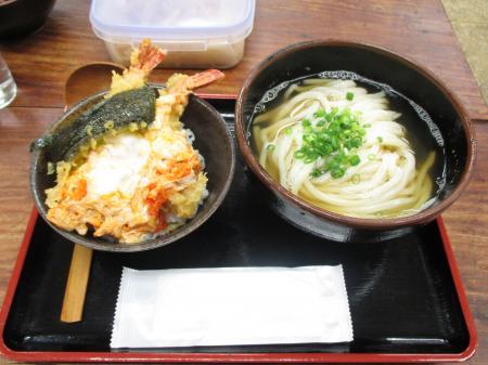 姫丼+かけうどんのセット
