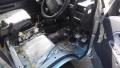 サンバー運転席断熱材貼り付け(20160702)