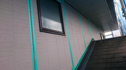 マスキングテープ外壁