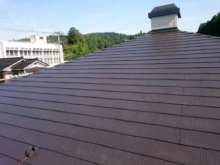 屋根施工後2