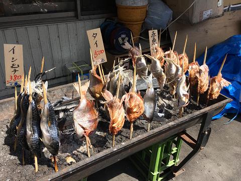 0962 炭焼き魚