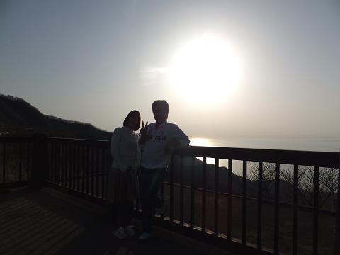 0966 弥彦山の夕暮れ