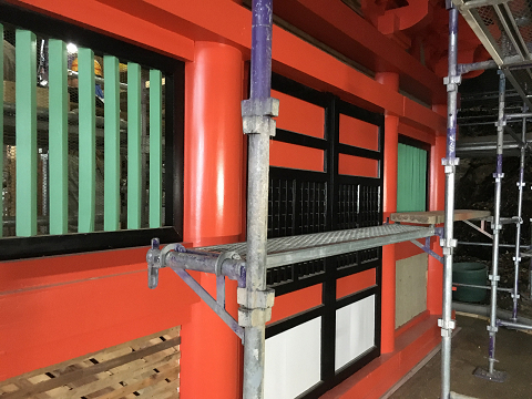1051-唐戸と連子窓
