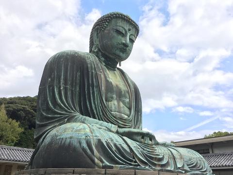 1069-鎌倉の大仏(近)