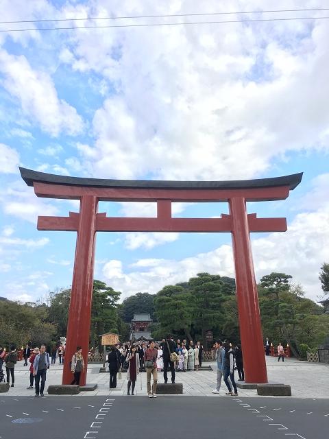 1063-鶴岡八幡宮前