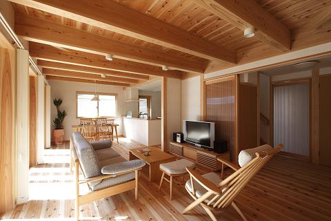 1095-①緑ヶ丘の家(内観)
