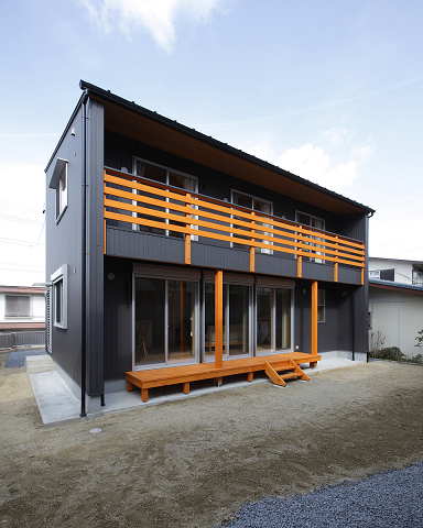 1094-①緑ヶ丘の家(外観)