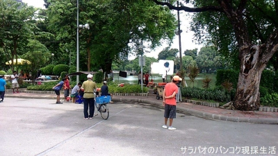 ルンピニー公園(สวนลุมพินี)