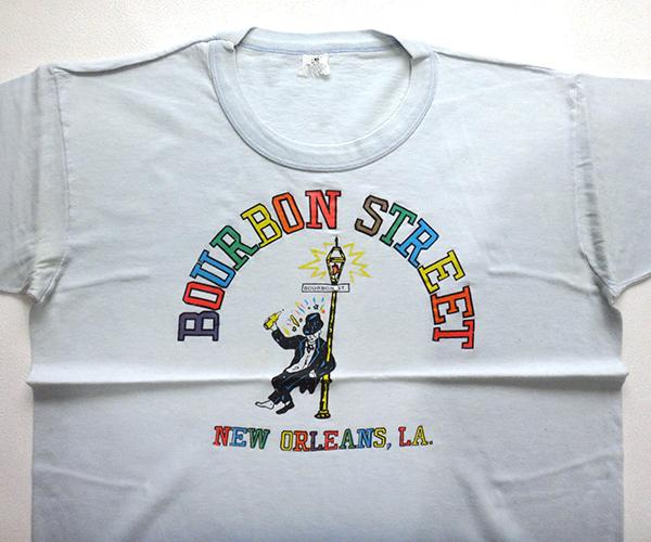Nut 39 s warehouse blog 70 39 s bourbon street new orleans la for T shirt printing new orleans