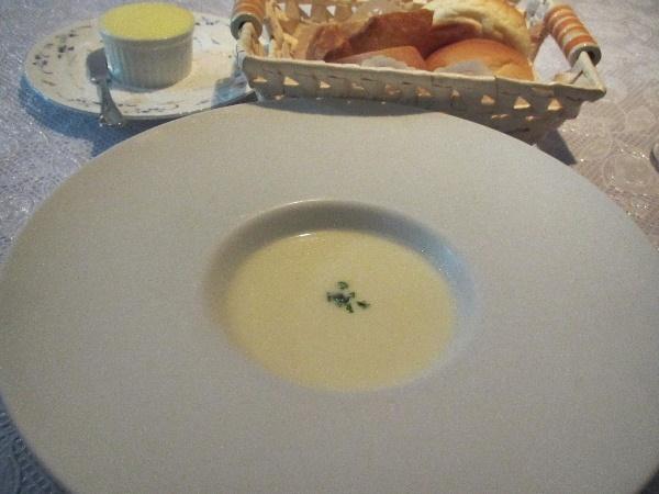 りんごの冷製スープ