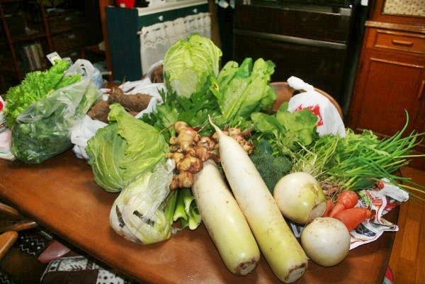 義兄のお野菜