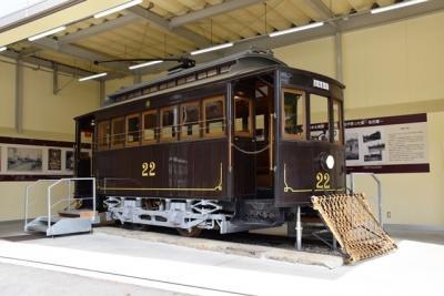旧名古屋電気鉄道第1号電車