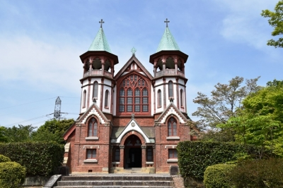 京都市河原町聖ヨハネ教会堂