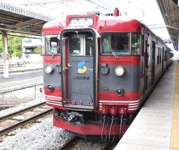 しなの鉄道115系S1編成しなの鉄道オリジナル色