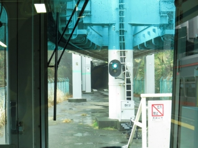 湘南モノレールトンネル
