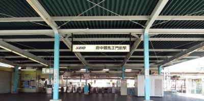 府中競馬正門前駅