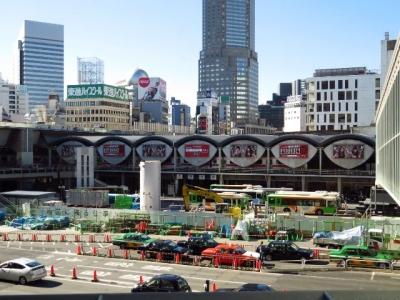 2013年解体前の投球渋谷駅東口