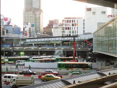 2014年東急渋谷駅東口旧東横線ホーム跡