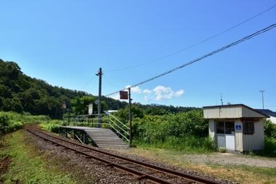 朱文別駅全景