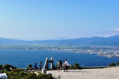 函館山から駒ヶ岳を望む